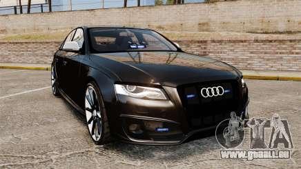 Audi S4 Unmarked Police [ELS] für GTA 4
