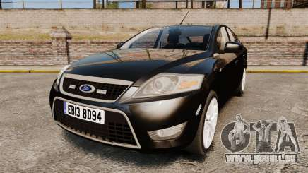 Ford Mondeo Unmarked Police [ELS] pour GTA 4