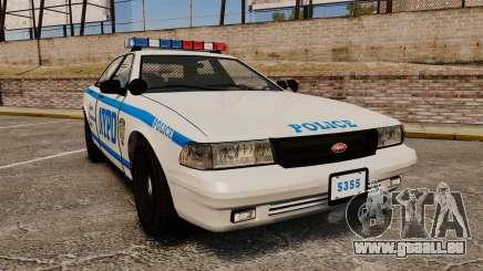 GTA V Vapid Police Cruiser NYPD für GTA 4