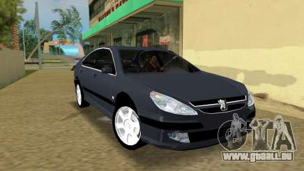 Peugeot 607 V6 pour GTA Vice City