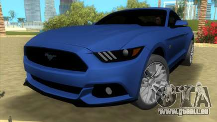 Ford Mustang GT 2015 pour GTA Vice City
