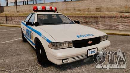 GTA V Police Vapid Cruiser NYPD pour GTA 4