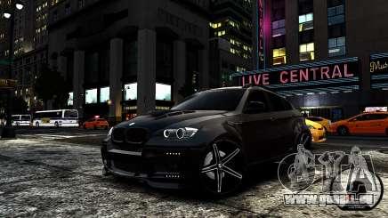 BMW X6 M Hamann 2013 Vossen pour GTA 4