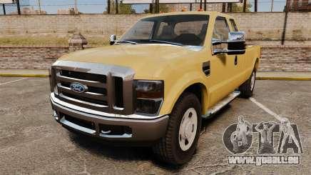 Ford F-350 Super Duty 2011 pour GTA 4