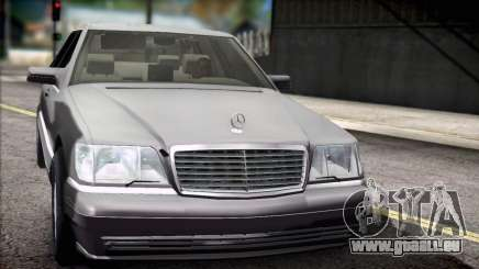 Mercedes-Benz S600 V12 V1.2 pour GTA San Andreas