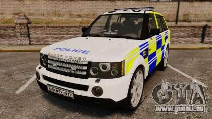 Range Rover Sport Metropolitan Police [ELS] pour GTA 4
