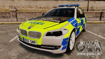 BMW 550d Touring Metropolitan Police [ELS] pour GTA 4