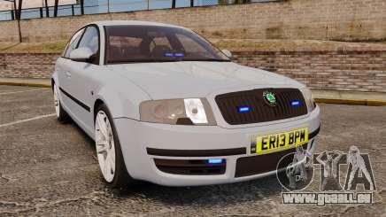 Skoda Superb 2006 Unmarked Police [ELS] pour GTA 4