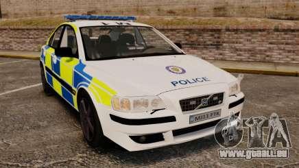 Volvo S60R Police [ELS] für GTA 4