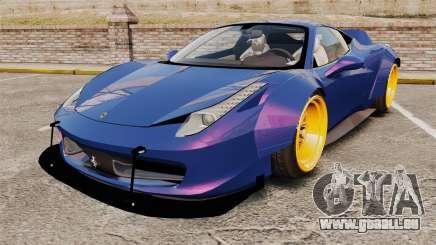 Ferrari 458 Italia Liberty Walk für GTA 4