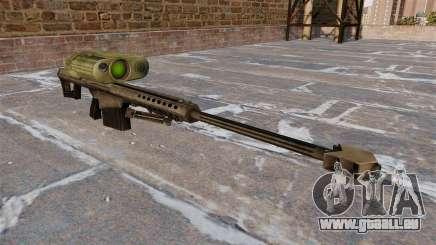 Fusil de précision Barrett M82A3 pour GTA 4