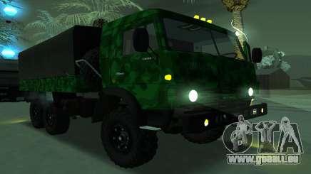 Armee KAMAZ 4310 für GTA San Andreas