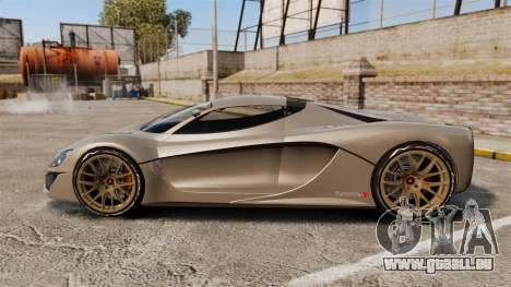 GTA V Grotti Turismo R v2.0 [EPM] pour GTA 4 est une gauche