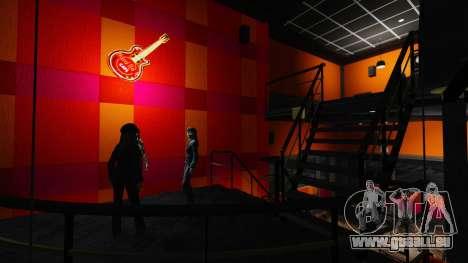 Un nouveau café-Hard Rock- pour GTA 4 troisième écran