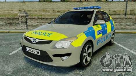 Hyundai i30 Metropolitan Police [ELS] pour GTA 4