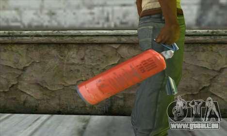Extincteur pour GTA San Andreas troisième écran