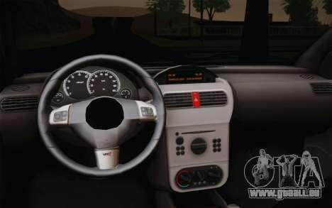Chevrolet Corsa VHC pour GTA San Andreas vue de droite