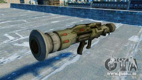 Lanceur de grenade antichar JAW v2.0 pour GTA 4 secondes d'écran