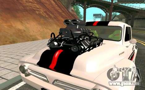 Ford FR-100 pour GTA San Andreas vue de droite