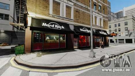 Un nouveau café-Hard Rock- pour GTA 4