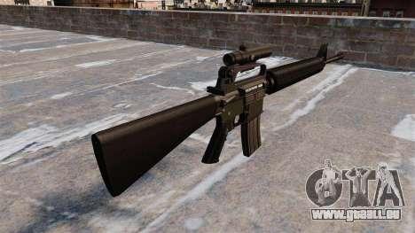 Le fusil M16A2 pour GTA 4 secondes d'écran
