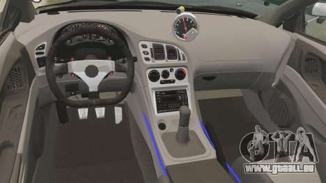 Mitsubishi Ecplise GS 1995 pour GTA 4 est une vue de l'intérieur
