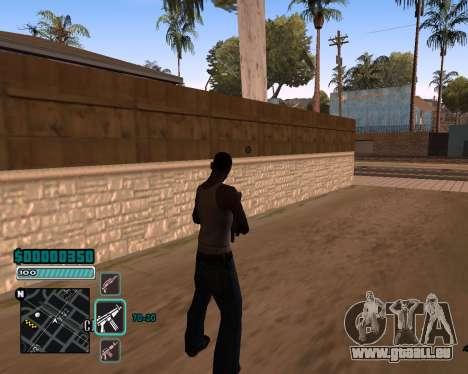 C-HUD v1 für GTA San Andreas zweiten Screenshot