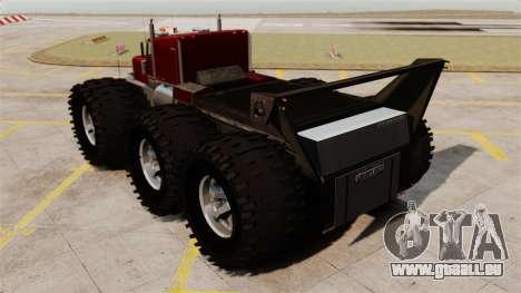 The Biggest Monster Truck für GTA 4 hinten links Ansicht