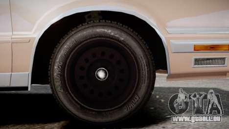 Chrysler New Yorker 1988 für GTA 4 hinten links Ansicht