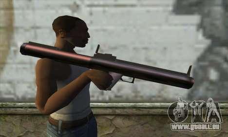M72 pour GTA San Andreas troisième écran