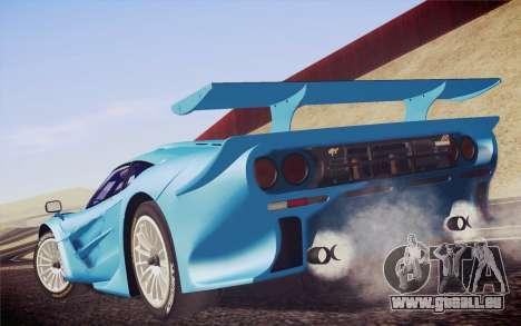 McLaren F1 GTR Longtail 22R pour GTA San Andreas laissé vue