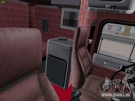 Freightliner FLD 120 pour GTA San Andreas vue intérieure