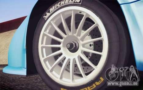 McLaren F1 GTR Longtail 22R für GTA San Andreas zurück linke Ansicht