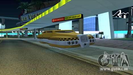 Taxi 5 Element pour GTA San Andreas laissé vue