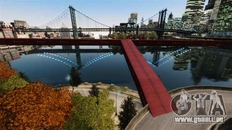 Nouveau pont dans l'Est de l'île de la cité pour GTA 4 secondes d'écran