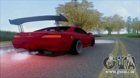 Nissan Silvia S15 V2 für GTA San Andreas Seitenansicht