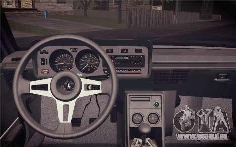 Volkswagen Scirocco S (Typ 53) 1981 IVF für GTA San Andreas Rückansicht