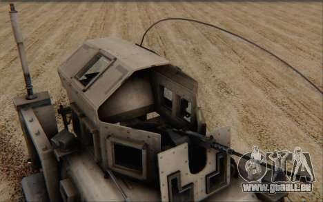 Oshkosh M-ATV pour GTA San Andreas vue de droite
