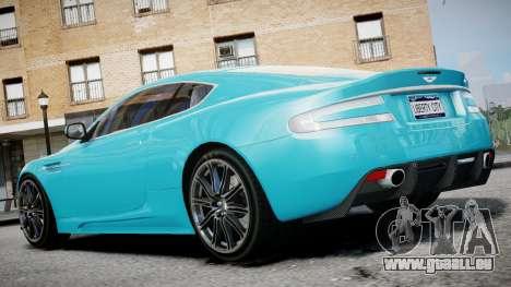 Aston Martin DBS v1.0 für GTA 4 linke Ansicht