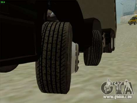 Le tableau de bord actif v 3.2.1 pour GTA San Andreas huitième écran