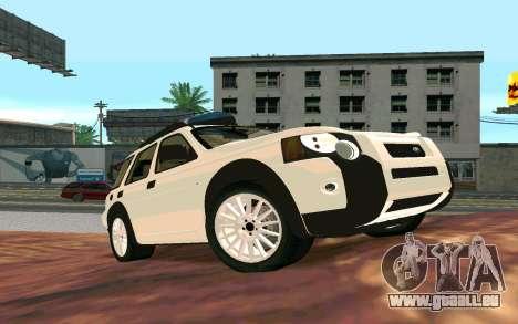 Land Rover Freelander pour GTA San Andreas