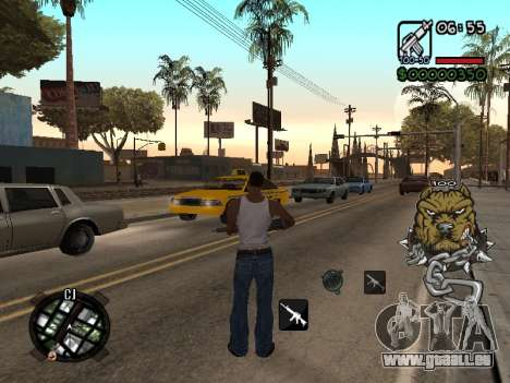 C-HUD by Margarin für GTA San Andreas