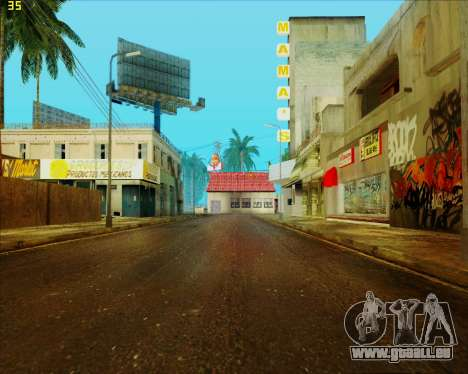 ENB HD CUDA v.2.5 for SAMP für GTA San Andreas sechsten Screenshot