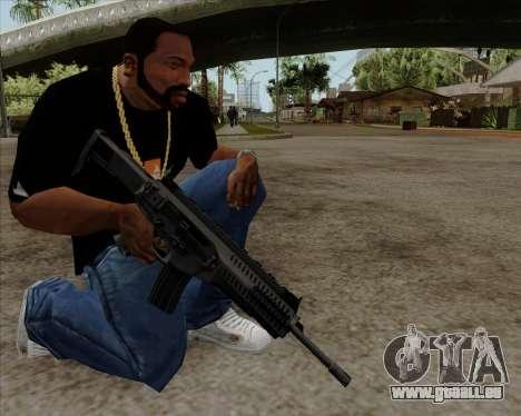 Beretta ARX-160 pour GTA San Andreas troisième écran