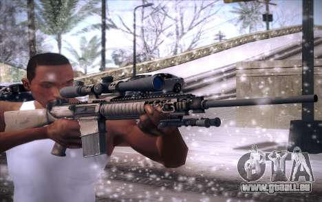 M110 pour GTA San Andreas