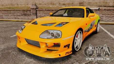 Toyota Supra RZ 1998 (Mark IV) Bomex kit pour GTA 4