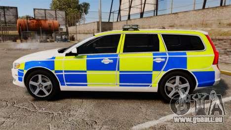 Volvo V70 South Wales Police [ELS] pour GTA 4 est une gauche