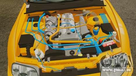 Toyota Supra RZ 1998 (Mark IV) Bomex kit pour GTA 4 Vue arrière