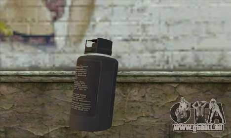 Spray из Postal 3 pour GTA San Andreas deuxième écran