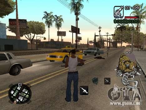 C-HUD by Margarin für GTA San Andreas dritten Screenshot